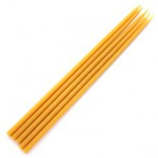 SVM4-Y Свеча магическая 26х0,8см, время горения более 1ч.40мин., 100% воск, цвет жёлтый