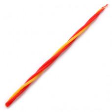 SVM7-16 Скрутка из 3-х свечей Приток энергии, 100% воск, 21см, 2 красн., 1 жёлт.