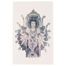 TTF010-28 Временная татуировка Авалокитешвара