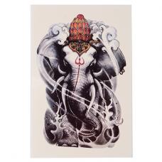 TTF010-34 Временная татуировка Слон