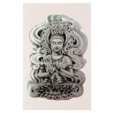 TTF010-44 Временная татуировка Будда
