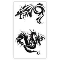 TTWM-132 Временная татуировка Драконы