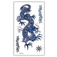 TTWM-144 Временная татуировка Китайский дракон