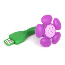 """USB011 USB-ароматизатор """"Цветок"""", цвет сиреневый"""