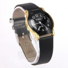 WA005B Часы наручные женские с чёрным ремешком