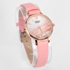 WA008P Часы наручные женские с розовым ремешком