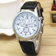 WA025-BK Часы наручные с черным ремешком