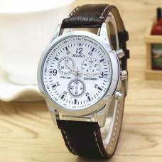 WA025-BR Часы наручные с коричневым ремешком