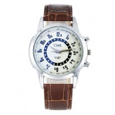 WA026-W Часы наручные белым циферблатом