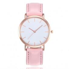 WA028-P Часы наручные с розовым ремешком