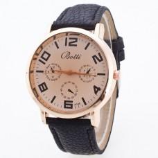 WA035-BK Часы наручные с коричневым ремешком