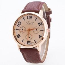 WA035-BR Часы наручные с черным ремешком
