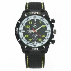 WA041-Y Часы наручные чёрно-жёлтые