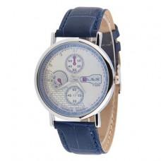 WA059 Часы наручные с синим ремешком