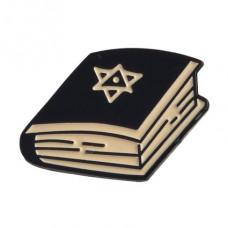 ZN011 Значок Книга, металл, эмаль 25х14мм